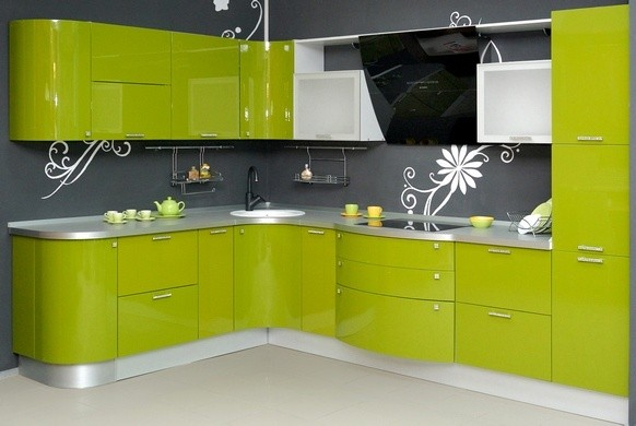Глянцевая или матовая кухонная мебель?